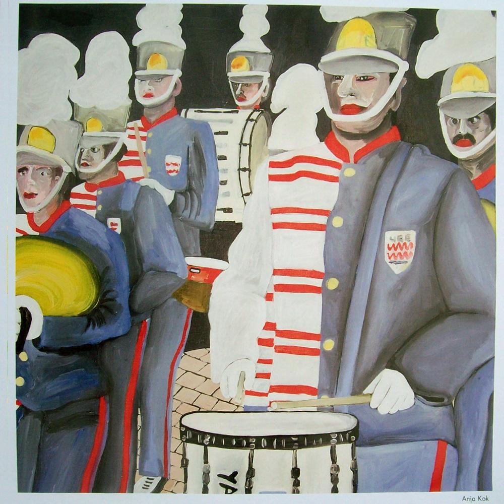 Schilderij door Anja Kok