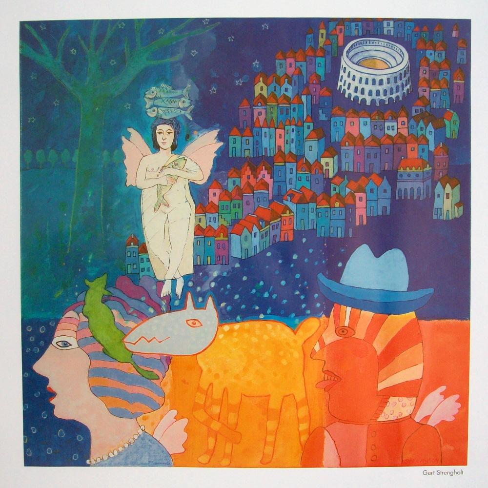 Schilderij door Gert Strengholt