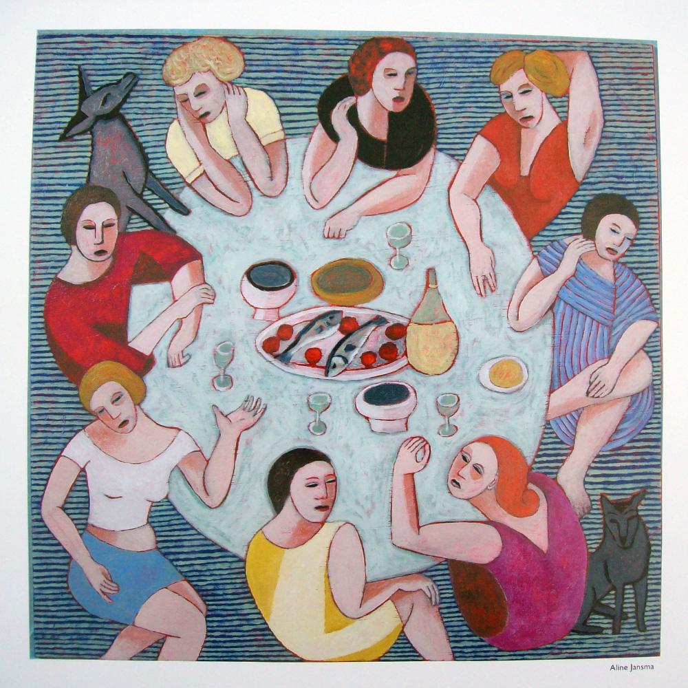 Schilderij door Alina Jansma