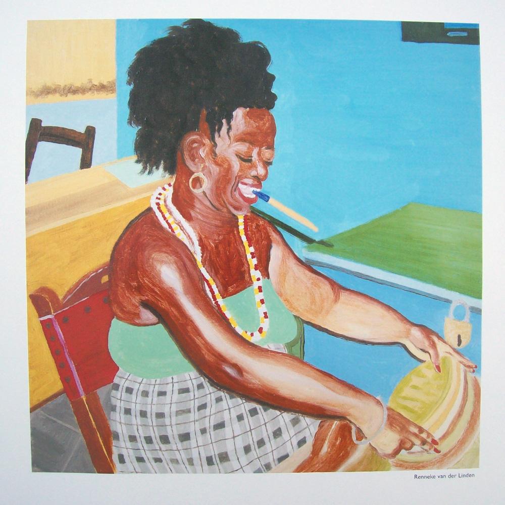 Schilderij door Renneke van der Linden
