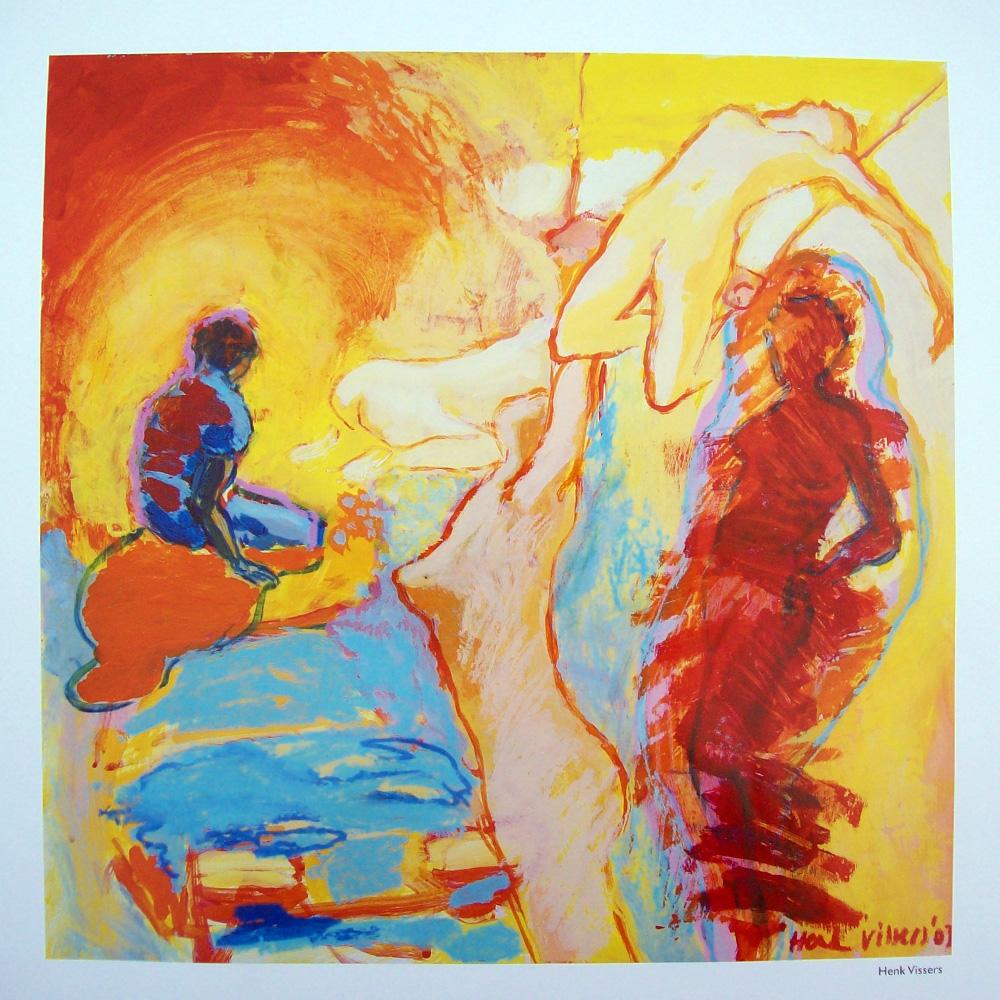 Schilderij door Henk Vissers