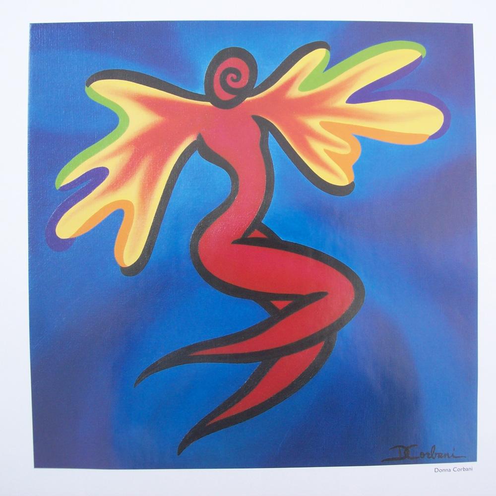 Schilderij door Donna Corbani