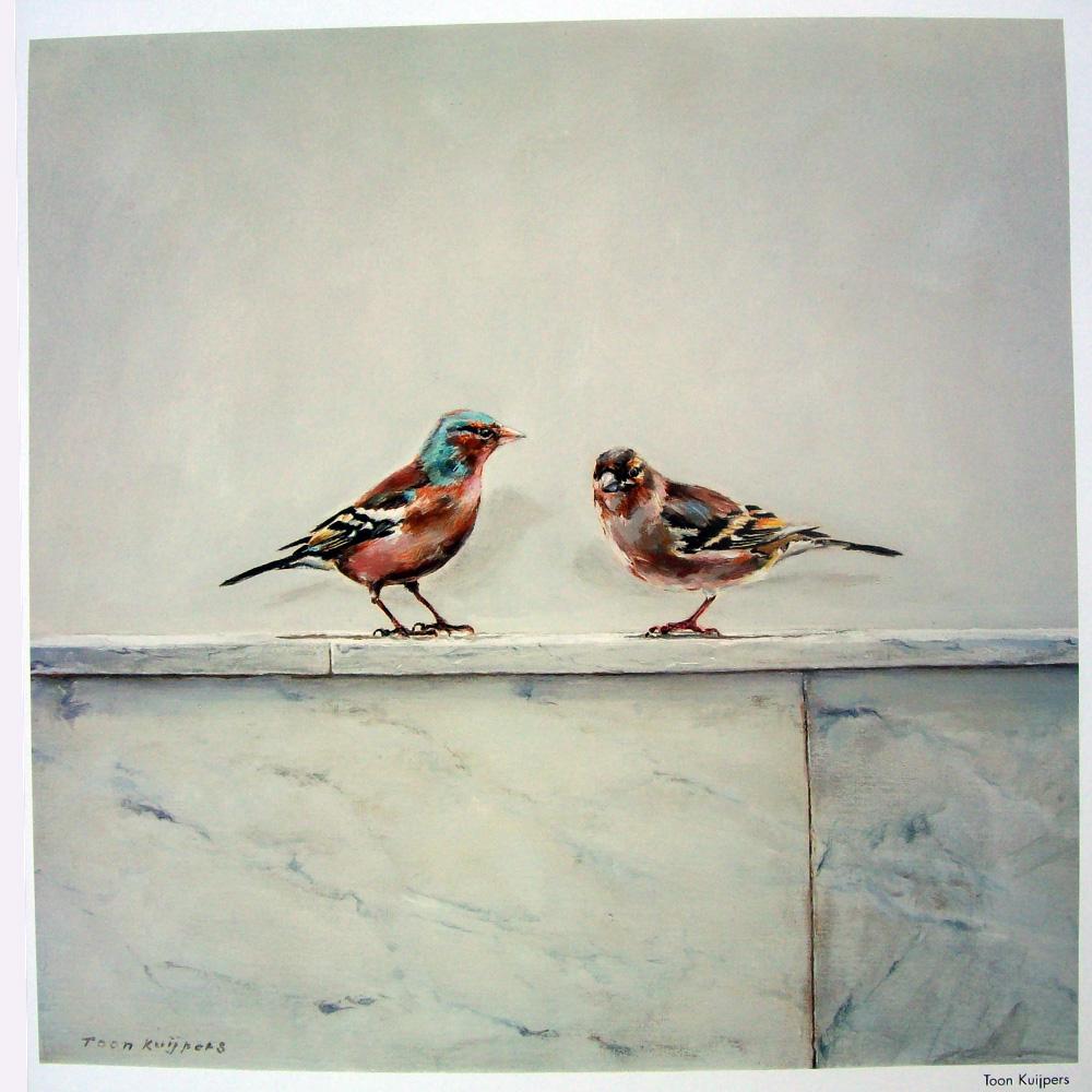 Schilderij door Toon Kuijpers
