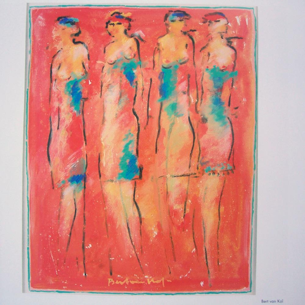 Schilderij door Bert van Kol