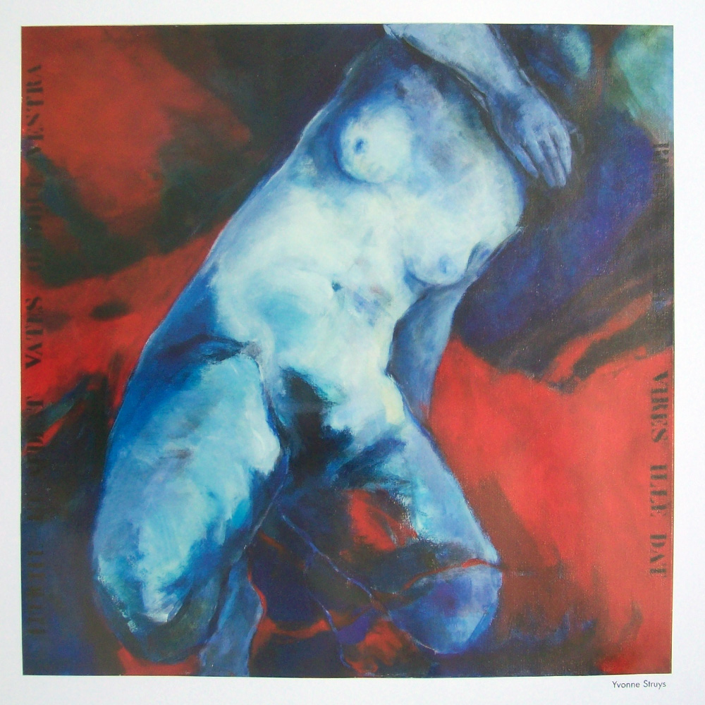Schilderij door Yvonne Struys