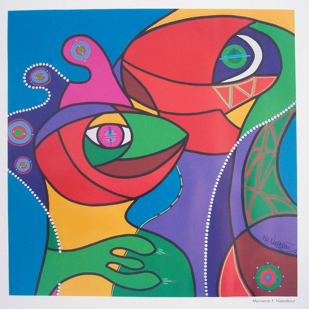 Schilderij door Marianne Y. Naerebout