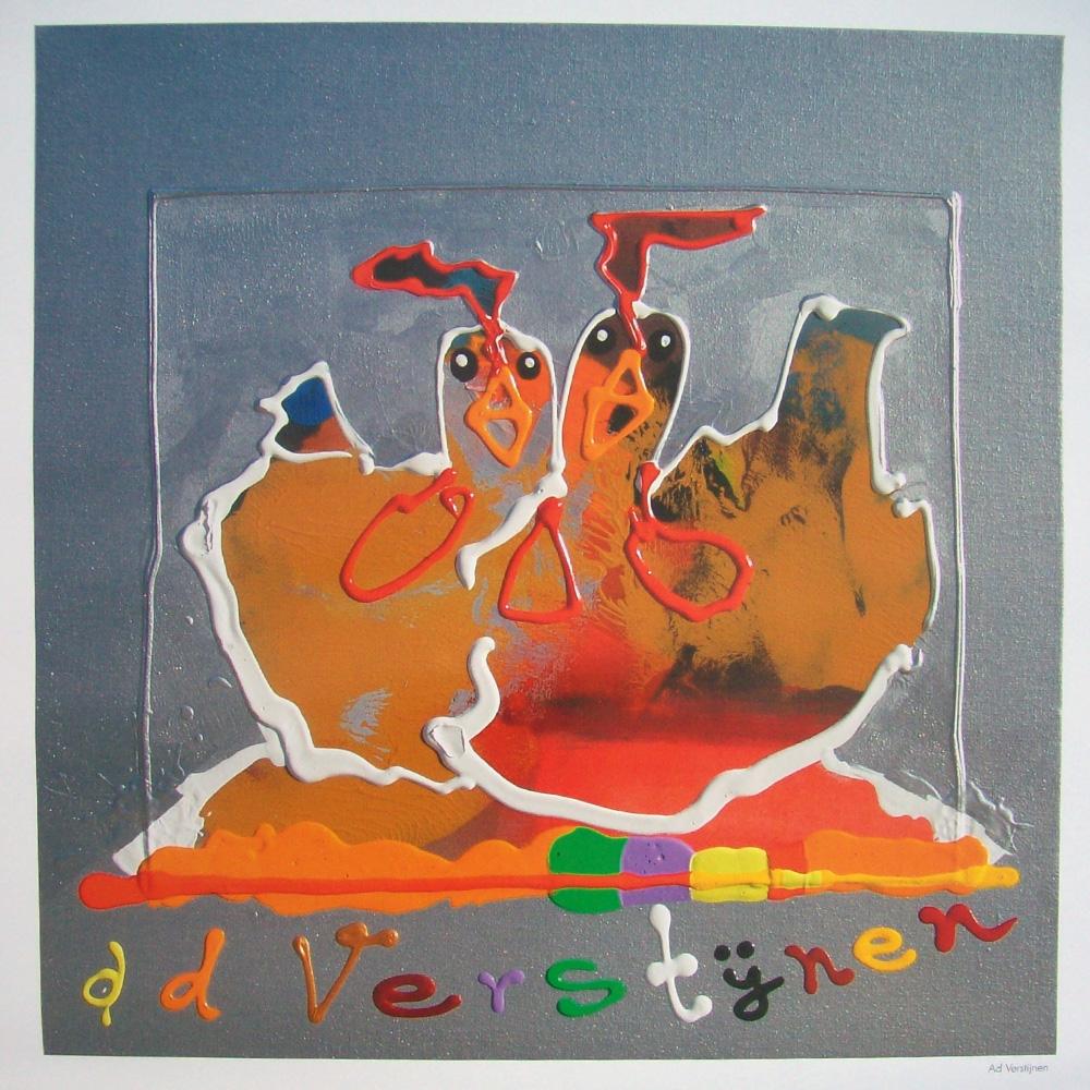 Schilderij door Ad Verstijnen