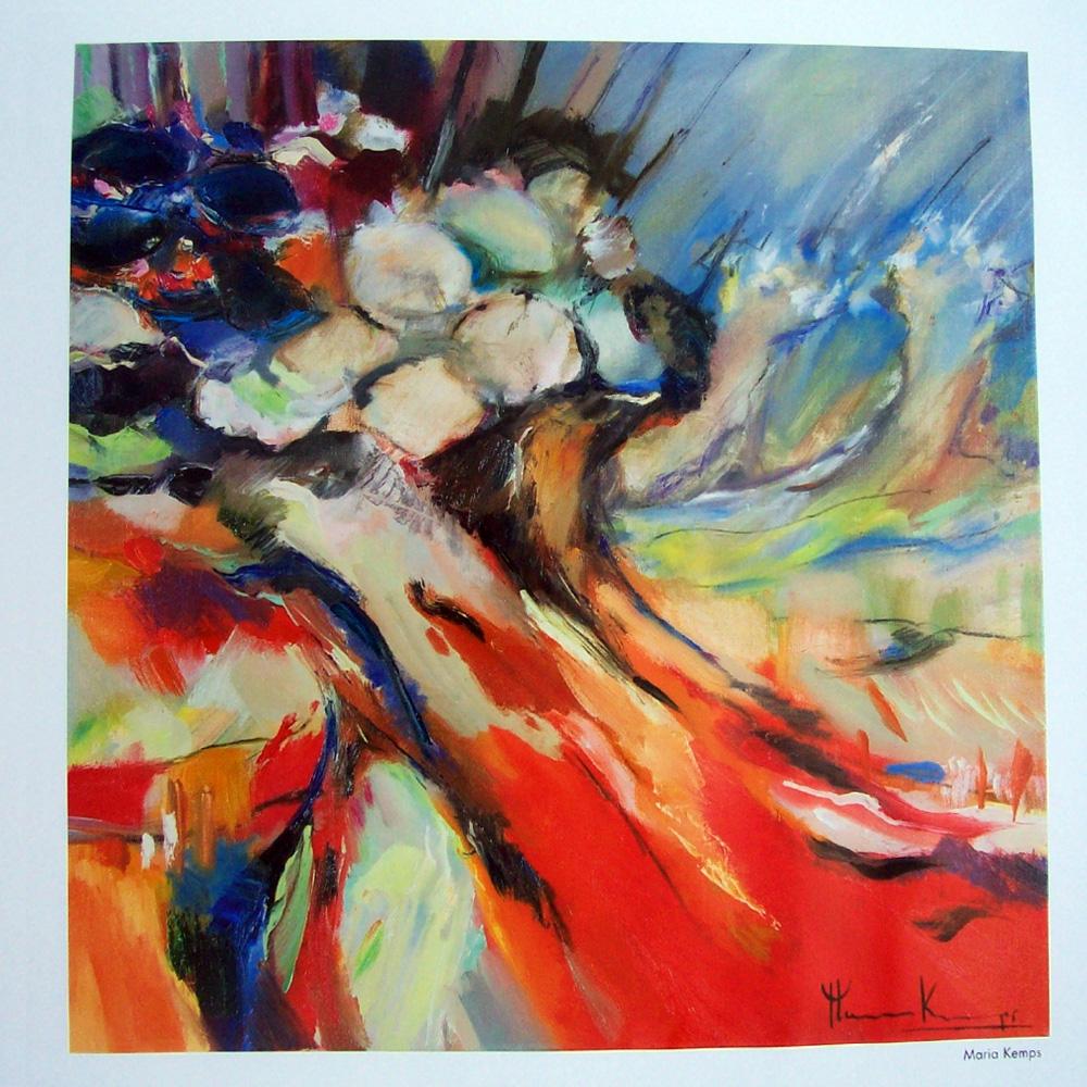 Schilderij door Maria Kemps