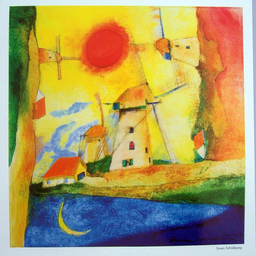 Schilderij door Susan Schildkamp