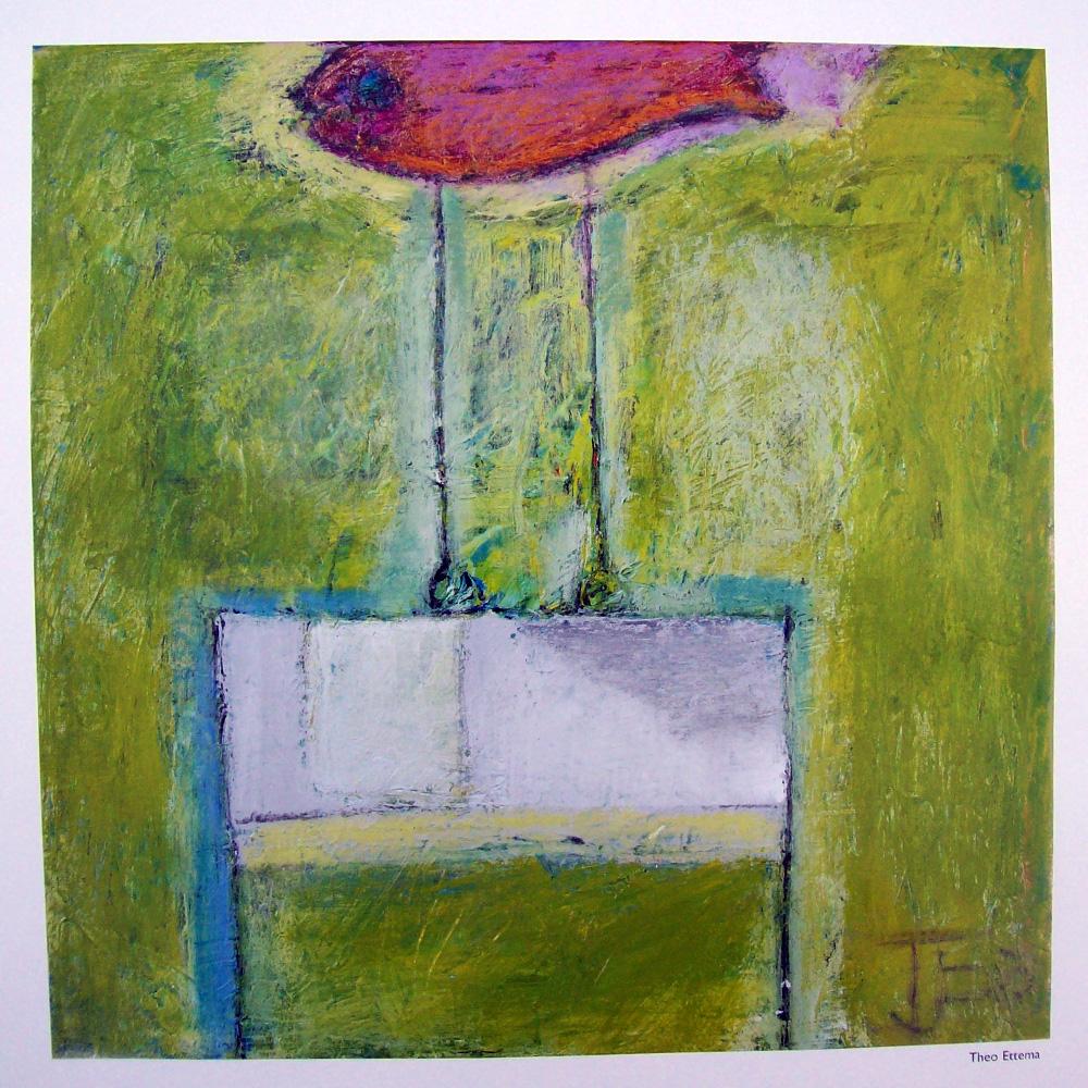 Schilderij door Theo Ettema