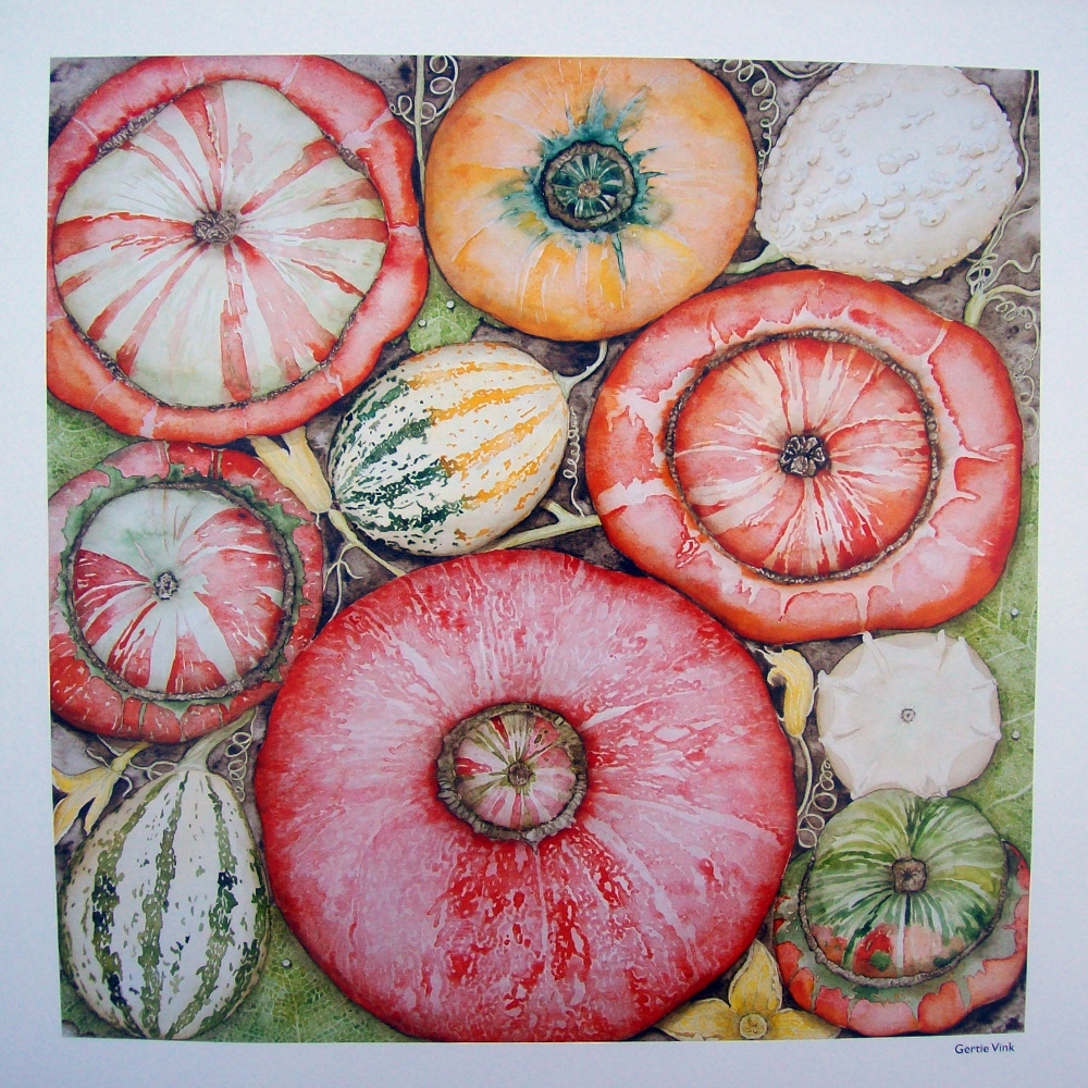Schilderij door Gertie Vink