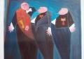 Schilderij door Margriet van Berkom